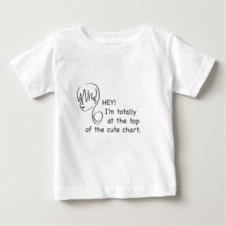 Top of the Cute Chart Toddler T-Shirt