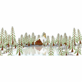 Top Of the Hill - Lake View Statuette