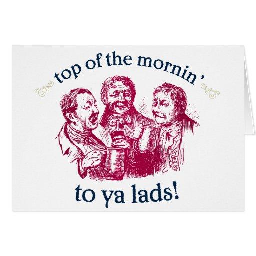 top-of-the-mornin card