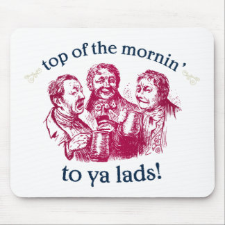 top-of-the-mornin mouse pad