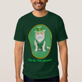 Top of the mornin'! t-shirts