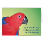 Top of the Morning Greeting Card