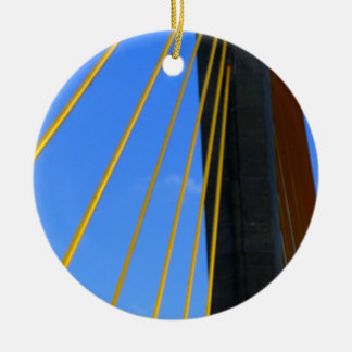 Top of the Skyway Ceramic Ornament