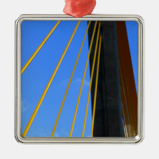 Top of the Skyway Metal Ornament