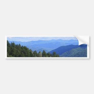 Top of the Smokies Bumper Sticker