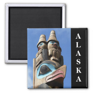 Top of the World Alaska Magnet