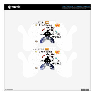 Top of the world by Credle Skins For PS3 Controllers