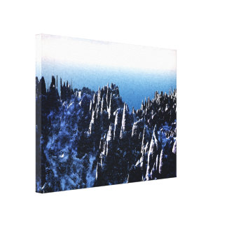 Top of The World Canvas Prints