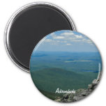 Top of Whiteface Mountain, Adirondacks, NY 2 Inch Round Magnet