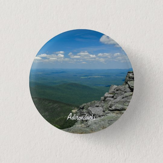 Top of Whiteface Mountain, Adirondacks, NY Button