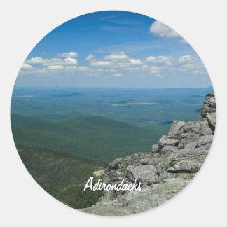 Top of Whiteface Mountain, Adirondacks, NY Classic Round Sticker