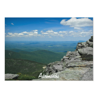 Top of Whiteface Mountain, Adirondacks, NY 5x7 Paper Invitation Card