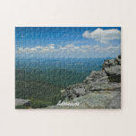 """Top of Whiteface Mountain, Adirondacks, NY Jigsaw Puzzle<br><div class=""""desc"""">A travel  photograph from the top of Whiteface mountain in the Adirondacks.  This nature photography will make a unique souvenir gift from your New York,  USA vacation.</div>"""