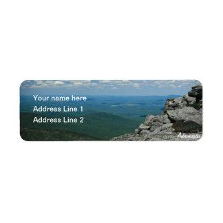 Top of Whiteface Mountain, Adirondacks, NY Label