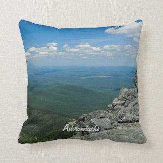 Top of Whiteface Mountain, Adirondacks, NY Throw Pillow