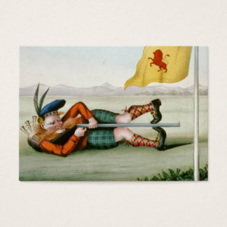 TOP Old World Golf Business Card