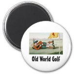 TOP Old World Golf Magnets
