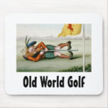 TOP Old World Golf Mouse Pads