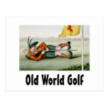 TOP Old World Golf Post Cards