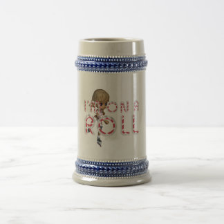 TOP On a Roll Beer Stein