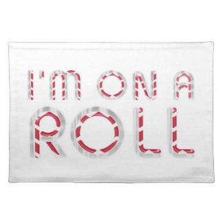 TOP On a Roll Cloth Place Mat