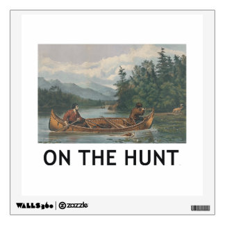 TOP On the Hunt Wall Sticker