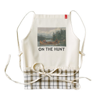 TOP On the Hunt Zazzle HEART Apron
