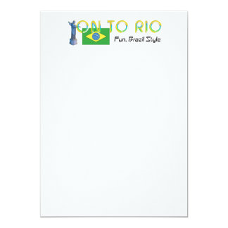 TOP On to Rio Card