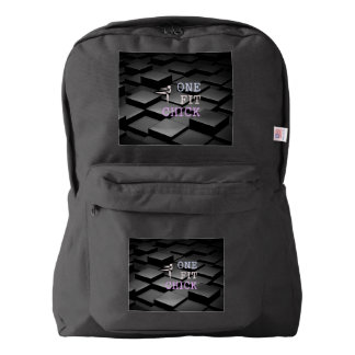 TOP One Fit Chick American Apparel™ Backpack