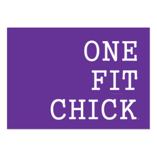 TOP One Fit Chick Business Card