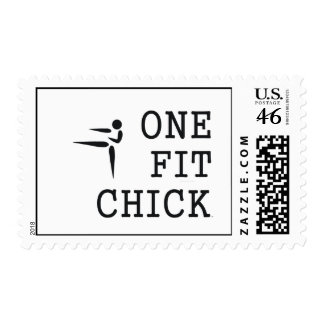 TOP One Fit Chick Stamps