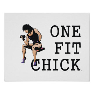TOP One Fit Chick Poster