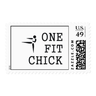 TOP One Fit Chick Stamp