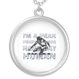 TOP Peak Performance Race Day Silver Plated Necklace