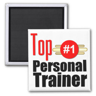 Top Personal Trainer 2 Inch Square Magnet