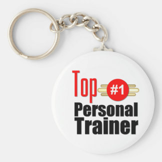 Top Personal Trainer Basic Round Button Keychain