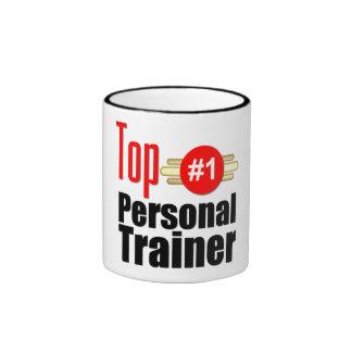 Top Personal Trainer Ringer Coffee Mug