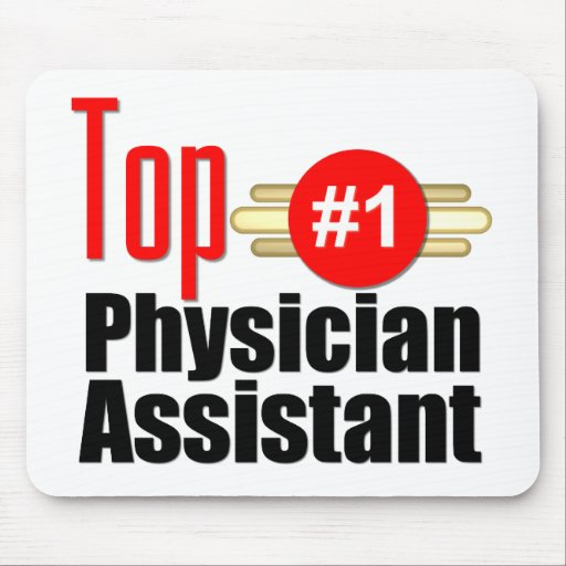 Top Physician Assistant Mouse Pad