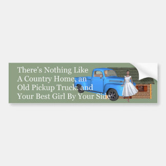 TOP Pickup Truck Bumper Sticker