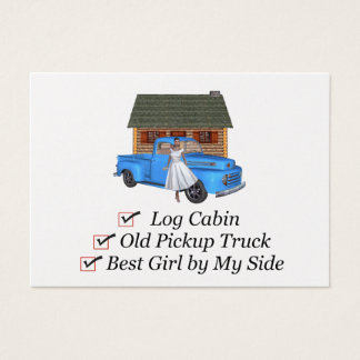 TOP Pickup Truck Business Card