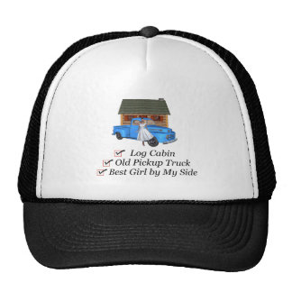 TOP Pickup Truck Trucker Hat