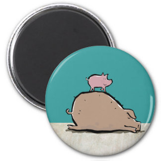 top pigs refrigerator magnet