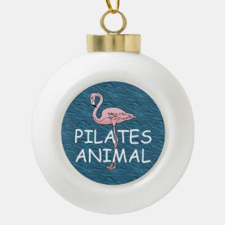 TOP Pilates Animal Ceramic Ball Christmas Ornament