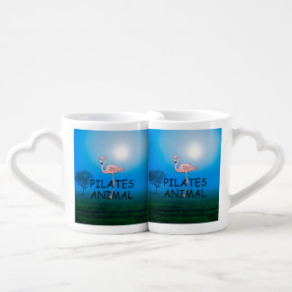 TOP Pilates Animal Coffee Mug Set
