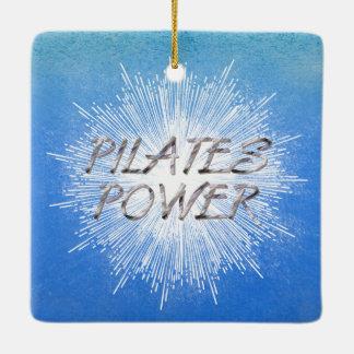 TOP Pilates Power Ceramic Ornament