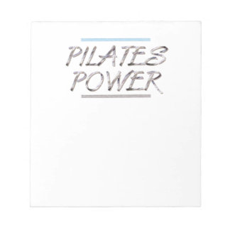 TOP Pilates Power Notepad