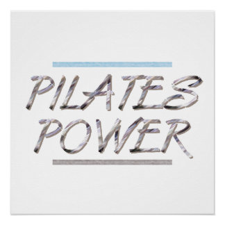 TOP Pilates Power Poster