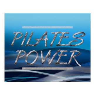 TOP Pilates Power Poster