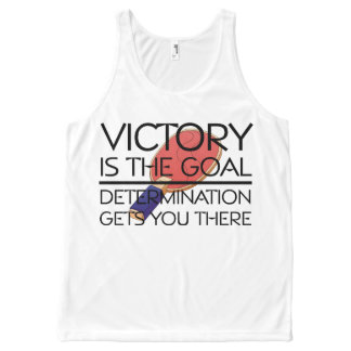 TOP Ping Pong Victory All-Over Print Tank Top