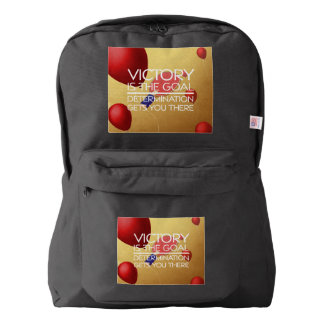 TOP Ping Pong Victory American Apparel™ Backpack